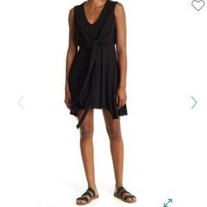 NWOT ALLSAINTS Jayda Jersey Tie Waist Dress